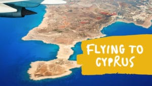 Flying to Cyprus